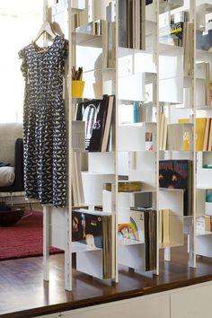Joint Venture Bookshelf Bookshelves, Bookcase, Metal Games, Joint Venture, Steel Furniture, Game Design, Interior And Exterior, Shelving, Furniture Design