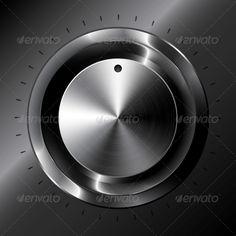 Black Metallic Vector Tuner