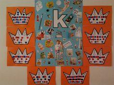 Met de hele groep plaatjes met de K en serie op de kroon!