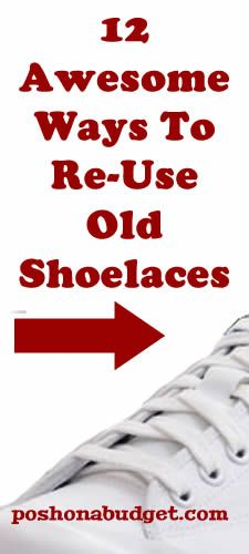 I'm saving my old shoelaces for now on...