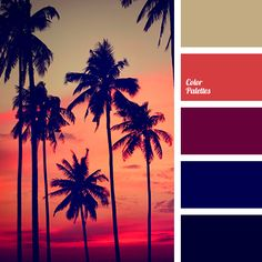 bright red color, brown color, cherry color, color of sea sunset, maroon color, midnight blue color, mustard color, red color, sunset color.
