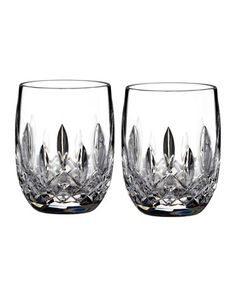 Waterford Crystal Lismore Rounded Tumblers, Set of 2 - Horchow :: $100