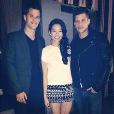 Max Carver, Arden Cho & Charlie Carver