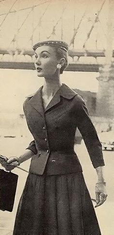 Evelyn Tripp, Charm July, 1955