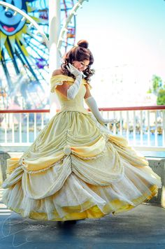 Belle. Such a gorgeous costume