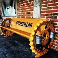 Love junk Car Part Furniture, Automotive Furniture, Automotive Decor, Metal Projects, Welding Projects, Metal Crafts, Recycled Furniture, Industrial Furniture, Tractor Decor