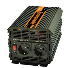 Wechselrichter ladeger�t 2000W spannungswandler power inverterDC 12V auf AC 230V wechselrichter modifizierte sinuswelle