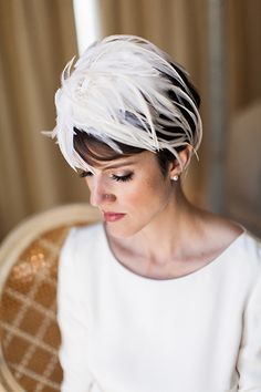 Gorgeous wedding headpiece