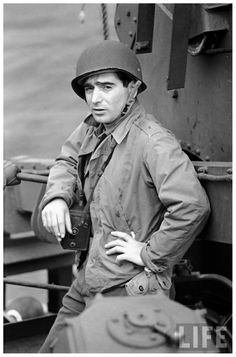 Photographer Robert Capa - did a report on him once