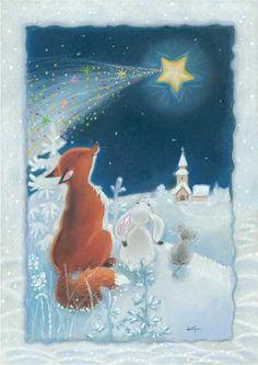Swedish Christmas, Whimsical Christmas, Christmas Art, Vintage Christmas, Illustration Noel, Christmas Illustration, Illustrations, I Love Winter, Winter Wonder