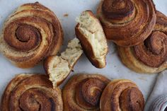 Manuela Kjeilen's recipe for classic Norwegian cinnamon buns offers a special taste that's unique from American versions. Tell us how you like the recipe! Cinnamon Bun Recipe, Cinnamon Rolls, Baking Recipes, Dessert Recipes, Desserts, Bread Recipes, Breakfast Recipes, Norwegian Food, Norwegian Recipes
