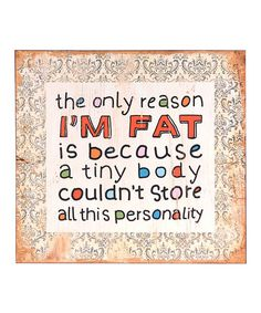 'All This Personality' Wall Sign #zulily #zulilyfinds
