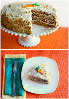 Carrot cake is one of those special desserts that everyone loves. It's especially a big hit with kids. Since parents love serving kids more vegetables a moist carrot cake recipe is a great solution.  - Teaspoon of Goodness