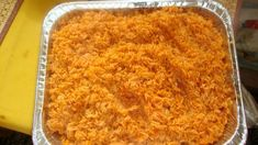 West African Jollof Rice from Food.com:   								West African Jollof Rice is superb! My parents are nigerian. I grew up eating this rice and every eaten at every party where the host is west african. Every west african country has its own version, however this is the best! Enjoy!