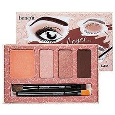 Benefit Cosmetics Big Beautiful Eyes from Sephora. Shop more products from Sephora on Wanelo. Eyeshadow Tutorial For Beginners, Beginners Eye Makeup, Eye Makeup Tips, Smokey Eye Makeup, Eyeshadow Tutorials, Makeup Ideas, Brown Eyeliner, Makeup List, Eyeshadow Ideas