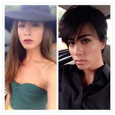 Enjoy your weekend and check out this lovely androgynous model, Belle Belz! http://goo.gl/uMUeHm #boytogirl #maletofemale #makeuptransformation #androgynous #model #indonesia