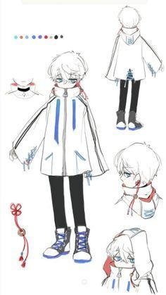 새인 on in 2019 Anime Outfits, Mangaka Anime, Character Concept, Character Art, Poses References, Fashion Design Drawings, Art Reference Poses, Drawing Clothes, Boy Art