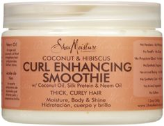 Shea Moisture Coconut Hibiscus Curl Enhancing Smoothie-12 oz Shea Moisture http://www.amazon.com/dp/B0038TVH3Y/ref=cm_sw_r_pi_dp_-2mqvb0D4191P