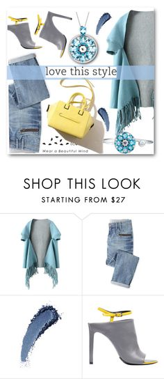 """""""Totwoo"""" by black-fashion83 ❤ liked on Polyvore featuring Wrap, Balenciaga, jewelry, totwoo and smartjewelry"""