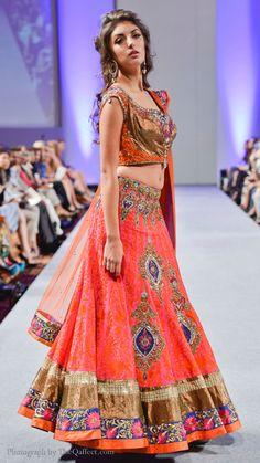 Indian bridal lehnga by pure-elegance.com