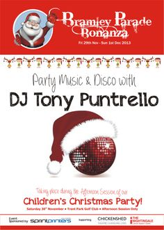 Bramley Bonanza Childrens Christmas, Cancer Support, Dj, Music, Musik, Musique, Music Activities
