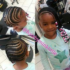 Cute Cornrows And Beads – www.blackhairinfo… Cute Cornrows And Beads – www. Childrens Hairstyles, Baby Girl Hairstyles, Natural Hairstyles For Kids, Kids Braided Hairstyles, African Braids Hairstyles, Natural Hair Styles, Black Hairstyles, Teenage Hairstyles, Medium Hairstyles
