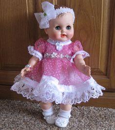 "Madame Alexander Doll Vintage 14"" Kathy Baby Doll #MadameAlexander #DollswithClothingAccessories"
