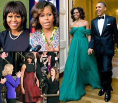 Happy 50th birthday, Michelle Obama! We're looking back at the first lady's winning wardrobe through the years...