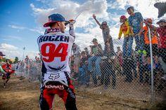 ken roczen 2016 press | Ken Roczen showers the masses with bubbly.