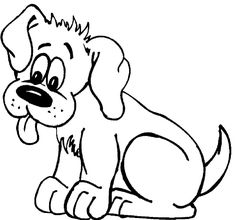 Top 25 Free Printable Dog Coloring Pages Online Dog Embroidery
