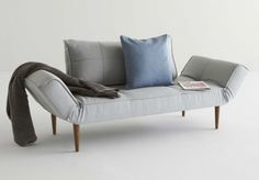 Innovation Living creates Danish design sofa beds for small living spaces. We strive to design manufacture design with focus on function and comfort that makes a difference in life. Sofa Bed Wooden, Wood Daybed, Small Space Living, Living Spaces, Sofa Furniture, Furniture Design, Single Couch, Canapé Simple, Dark Sofa
