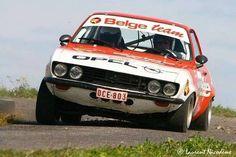 Manta A GT/E rally car