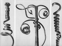 Karl Blossfeldt, Pumpkin Tendrils Magnified 4x, 1928