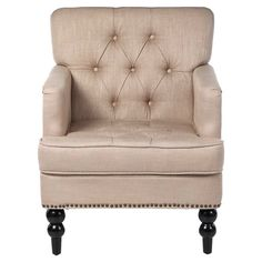 Karl Upholstered Club Arm Chair
