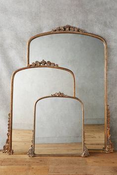 french inspired flea market find mirrors from Anthropologie #everydayparisian