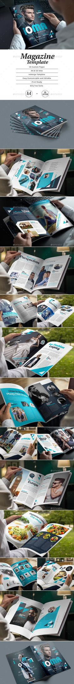 MAGAZINE TEMPLATE LIVE PREVIEW Details Magazine, Cool Magazine, Print Magazine, Indesign Templates, Print Templates, Templates Free, Magazine Template, Free Prints, Website Template