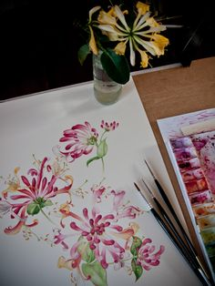 Eunike Nugroho beautiful watercolour painting