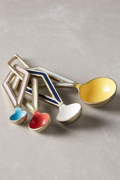 Leyla Measuring Spoons - anthropologie.eu