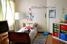 Foodie Mom Cooks: Dr. Suess little kids room
