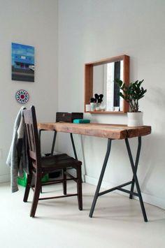 Mesas de madera recuperada; Una decoración que aportará personalidad a tu hogar.
