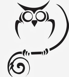 Owl stencils- for front of console table