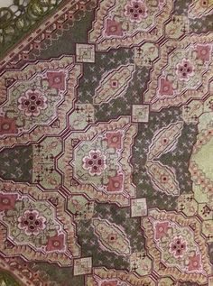 Cross Stitch Patterns, Bohemian Rug, Projects To Try, Pillows, Rugs, Flowers, Home Decor, Cross Stitch, Embroidery