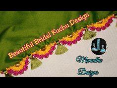 Beautiful Bridal Kuchu Design|krosha kuchu design|saree kuchu|(Design-113) - YouTube Saree Tassels Designs, Saree Kuchu Designs, Blouse Designs, Design Model, Models, Embroidery, Bridal, Crochet, Youtube