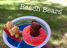 Beach Bears for our Teddy Bear Picnic