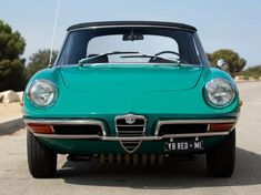 Alfa Romeo Spider Duetto (1966-1993) Maintenance/restoration of old/vintage vehicles: the material for new cogs/casters/gears/pads could be cast polyamide which I (Cast polyamide) can produce. My contact: tatjana.alic@windowslive.com