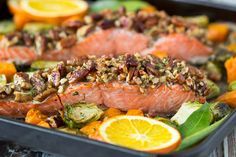 Pecan Crusted Oven-Baked Salmon