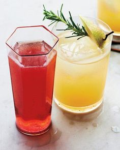 Moonshine and Pear-Nectar Cocktail Recipe