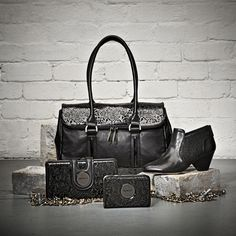 Vivacious Vaudeville. Inspired by our showgirl and her Vaudeville performance, we bring you a collection worked over with intricate laser-cut details, glossy patent leathers, and vintage glamour...    Shop glamour now at www.mimco.com.au