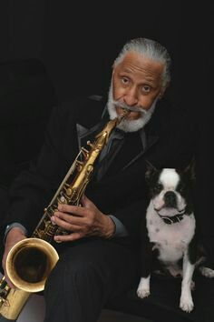 Sonny Rollins and Dizzy the Boston.