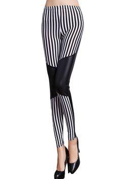 99490e3a468ea Amazon.com: Ifeverlove Women's High Waist Artificial Leather #Legging  (Black79765): Clothing